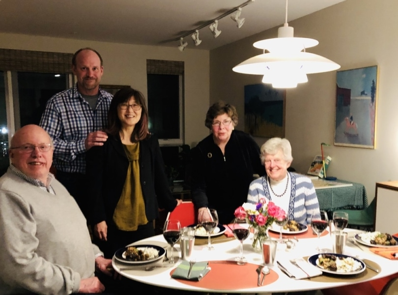 Supper group gathers