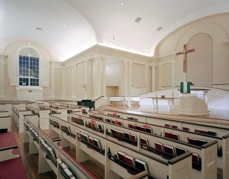 View of sanctuary