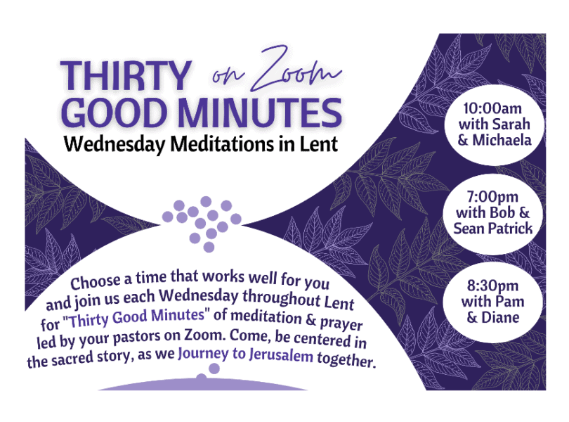 Graphic of Lenten practice